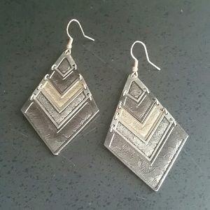Jewelry - Tri-tone Earrings